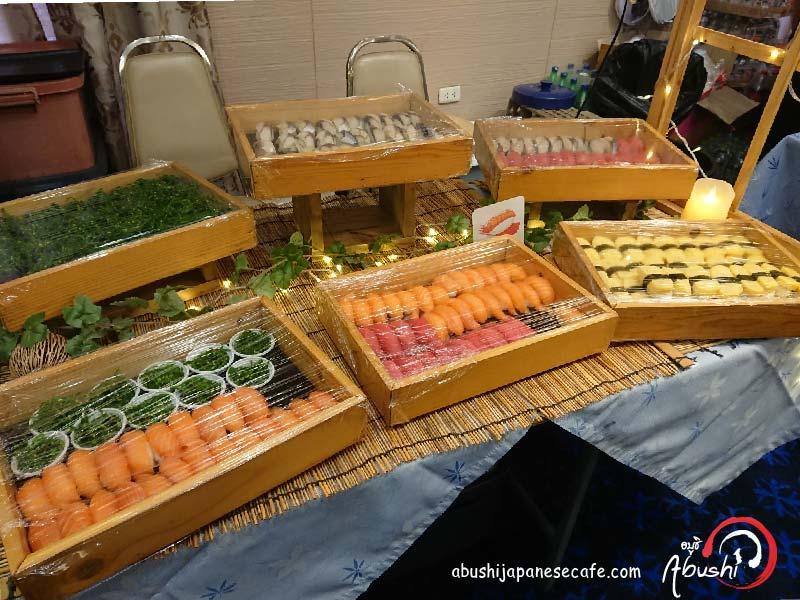 อาหาร ญี่ปุ่น นอกสถานที่ catering อาหาร ญี่ปุ่นซูชิ Halal Japanese Catering Navy-02