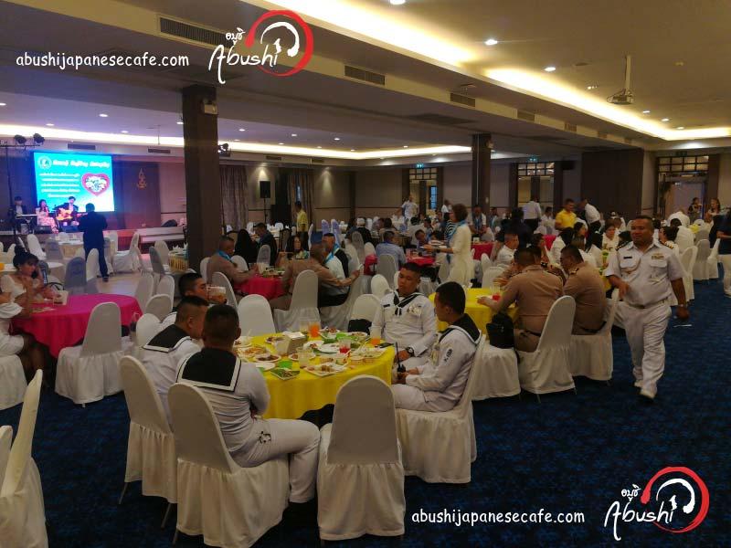 อาหาร ญี่ปุ่น นอกสถานที่ catering อาหาร ญี่ปุ่นซูชิ Halal Japanese Catering Navy-03
