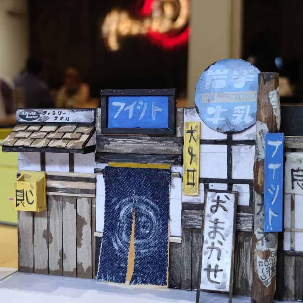 บรรยากาศร้านabushi แรงบันดาลใจจากหมู่บ้านชาวประมง