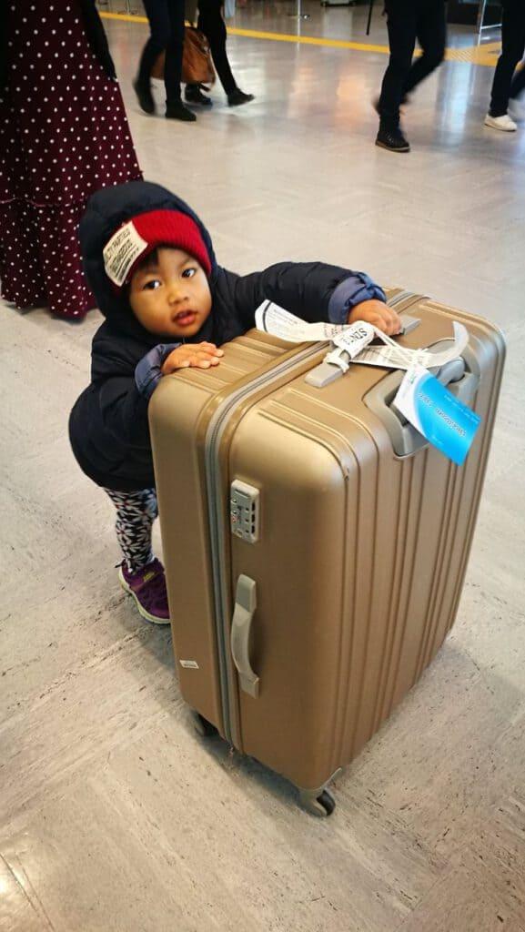 กระเป๋าลาก 4 ล้อ เด็กช่วยลากได้สบายมาก