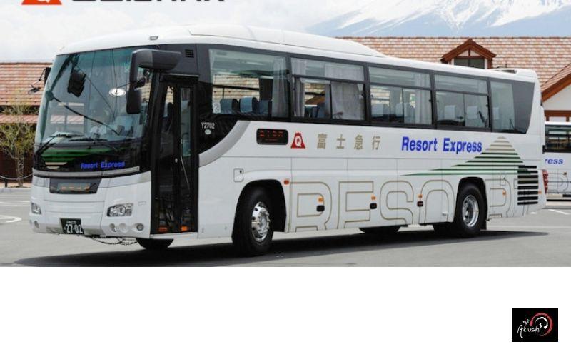 การเดินทางของ Abushi เที่ยวญี่ปุ่น รถบัสจากโอซาก้าไปคาวากุจิโกะ